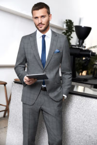 Atelier Torino gyűrődésmentes üzleti öltöny