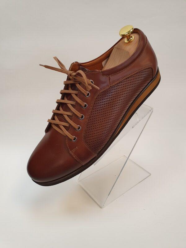 Lavaggio barna bőr férfi cipő