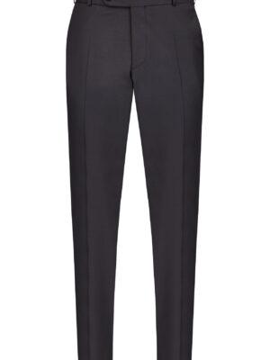 Wilvorst fekete elasztikus alkalmi nadrág