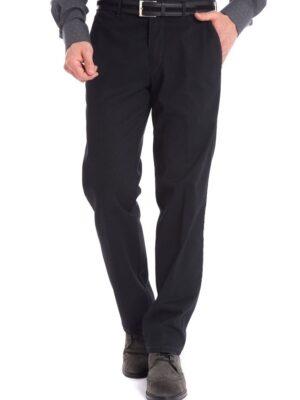 Wegener sötét szürke anyagába mintás nadrág