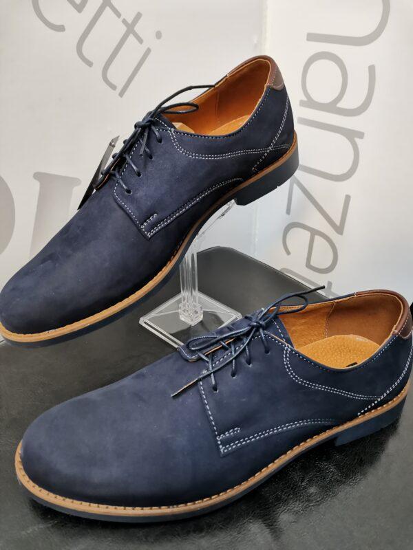 adga navy blue férfi cipő
