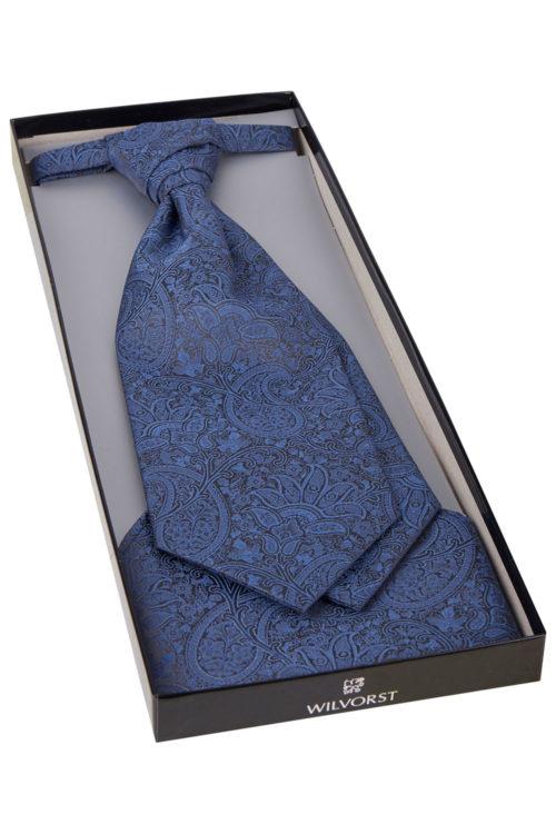 Wilvorst jaquard mintás francia nyakkendő szett