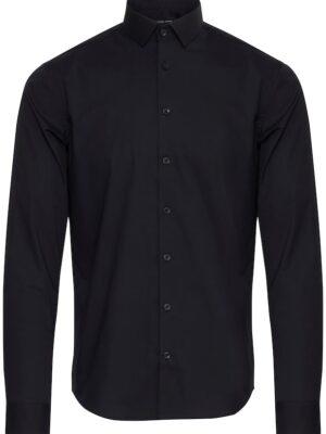 casual friday elasztikus fekete ing