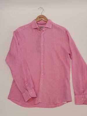 Carlos Cordoba lenes rózsaszín ing