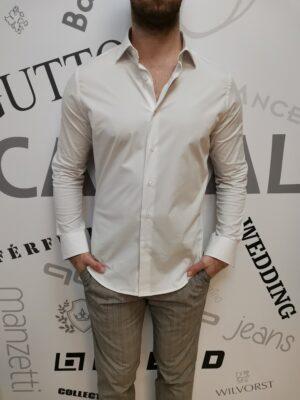 Carlos Cordoba streccs fehér ing