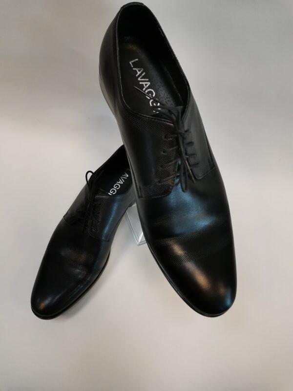 Lavaggio feket bőr cipő
